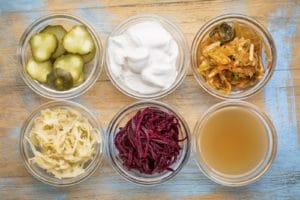 Fermented Foods Sour Cream Sauerkraut