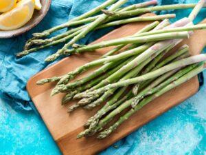 asparagus food high in sulfur