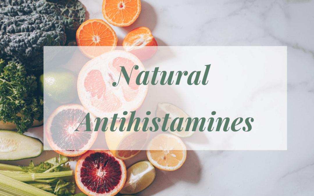 Best Natural Antihistamines for Histamine Intolerance